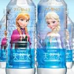ブルボンからアナと雪の女王の天然水(ミネラルウォーター)が新発売!7月15日から