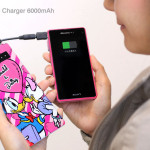 ディズニーの携帯スマホ充電器が可愛い!持ち運びに便利なコンパクトサイズ