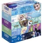 アナと雪の女王のスコッティ箱ティッシュが数量限定で発売!