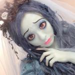 ハロウィンでティム・バートン作品のキャラクターに仮装した芸能人が話題に