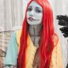 ナイトメアのサリーコスプレ画像 ハロウィンにぴったりのつぎはぎメイク♪