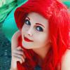 リトル・マーメイド アリエルの美しいマーメイドコスプレ画像 #ハロウィン