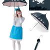 不思議の国のアリスの日傘で可愛くUVカット!フリル付きのゴスロリ風アンブレラ